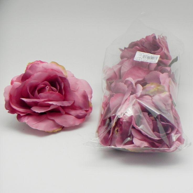 UK věncová růže velká x7 14cm starorůžová