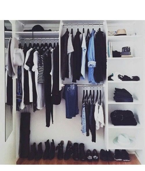 Fashion, Clothes, And Style Image · Minimal WardrobeCloset ...