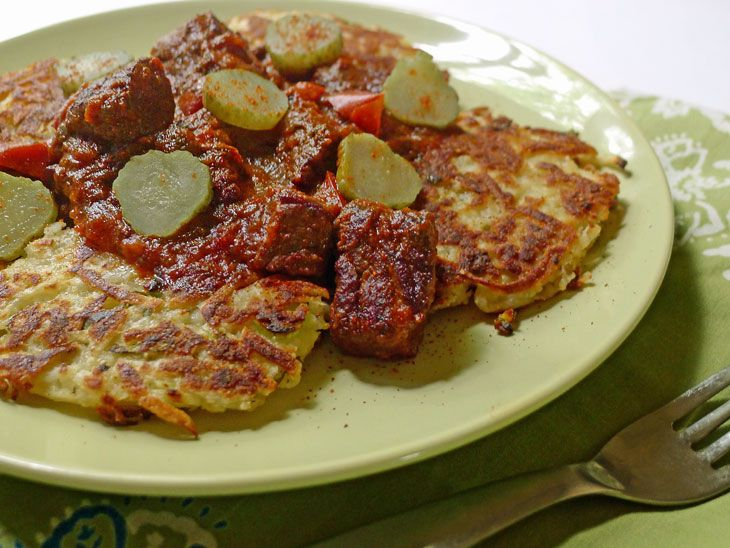Hungarian potato cakes recipe