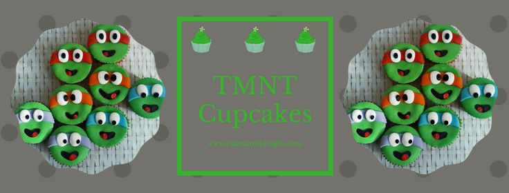 I remember watching the Teenage Mutant Ninja Turtles when I was a kid (the original series, of course!) and I love it that a little boy today still wanted the turtles on his cupcakes. I don't…