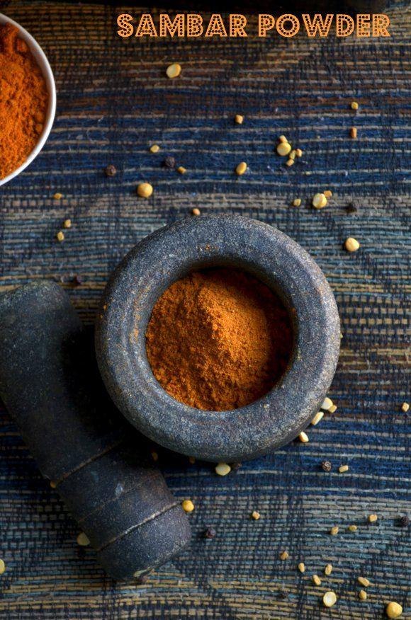 Sambar Powder/Sambar Podi ~ Nalini'sKitchen