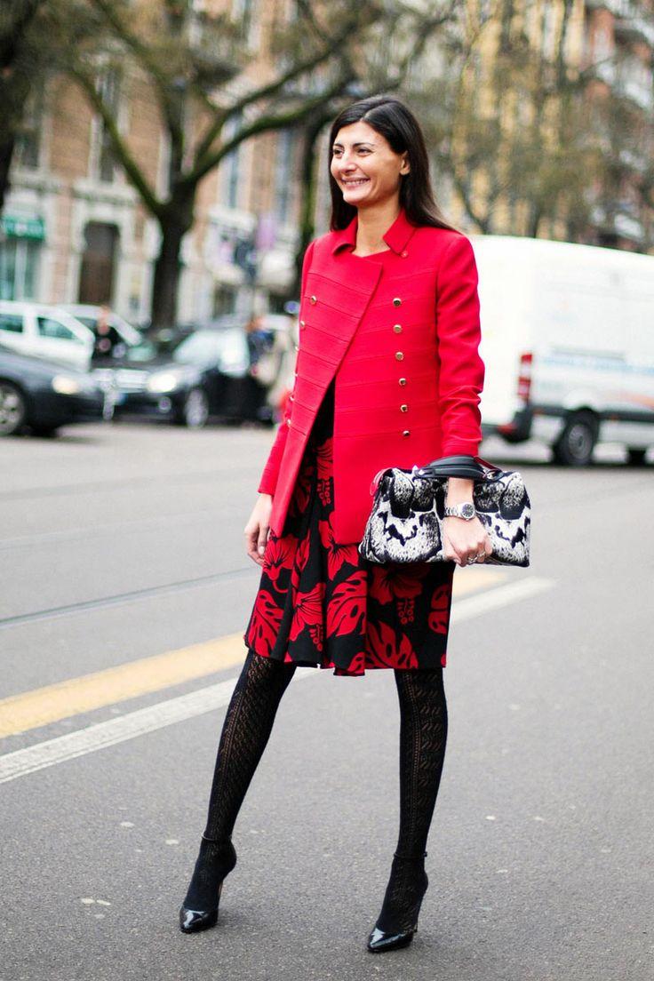 Giovanna Battaglia_Moda en la calle en la Semana de la Moda de Milán febrero 2014 © Josefina Andrés