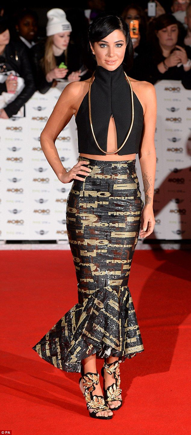 Oozing in glamour: TulisaContostavlos looked a far cry form her N-Dubz days when she step...