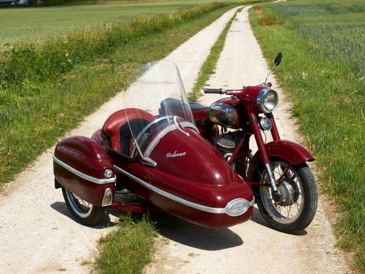 Jawa 350 354/06 with velorex 560 | Bikes | Vespa ...