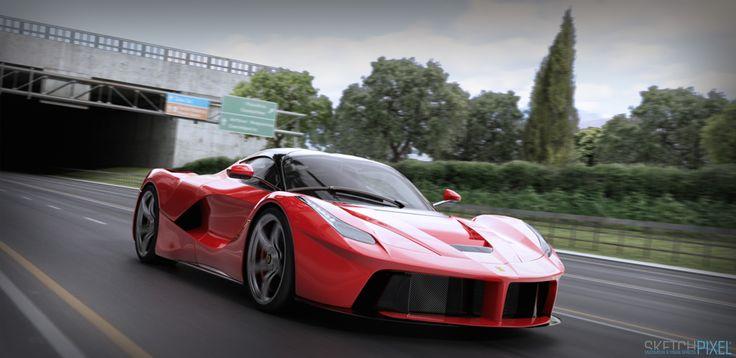 Ferrari LaFerrari CG CAR