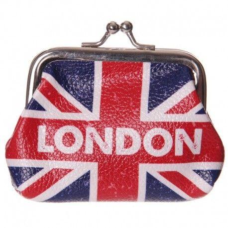 Porte monnaie - Drapeau Grande-Bretagne Londres