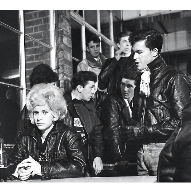 the leather boys 1950s ton up boy style 40s 50s 60s