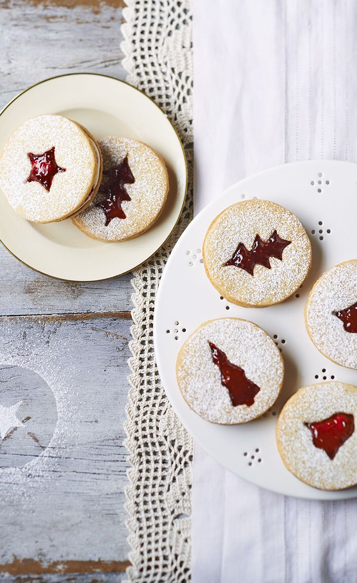We love Edd Kimber's recipe for Amaretto creams - a boozy Christmas version of a classic Jammie Dodger. Get the recipe on the Waitrose website.