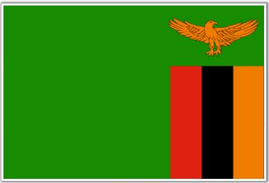 Zambia Flag The Republic of Zambia joined the Commonwealth in 1964