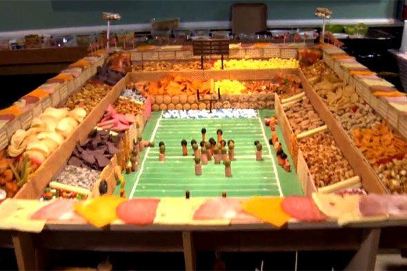 #Superbowl stadium snack barFood Appetizers, Football Food, Snacks Food, Super Bowls, Football Parties, Superbowl Parties, Snacks Bar, Parties Food, Football Stadium
