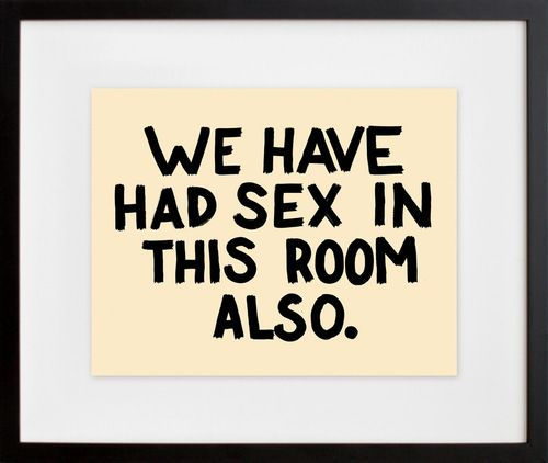 Perfect wall art for a guest room.