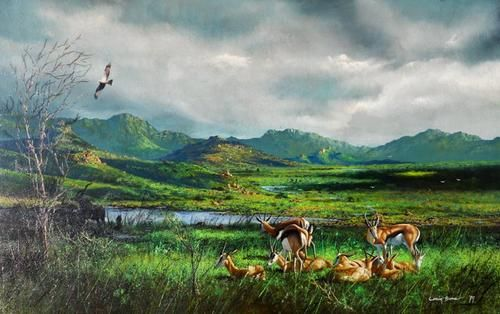 Buy CRAIG BONE - INTERNATIONALLY ACCLAIMED WILDLIFE ARTIST for R80,000.00