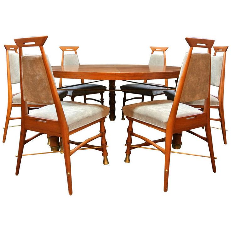 Frank Kyle Mexican Dining Set | 1stdibs.com