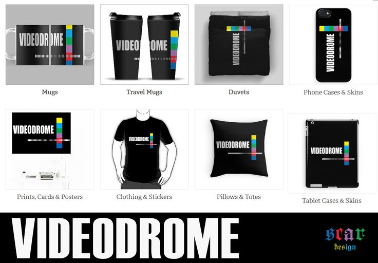 Videodrome Movie Gifts  #videodrome #videodromemovie #movieposter #redbubble…