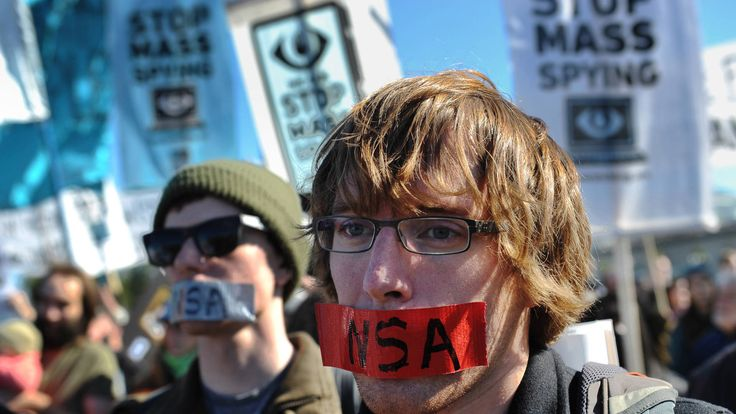 """""""Stop Watching Us"""": As Diplomatic Fallout Grows, Thousands Protest NSA Surveillance in D.C. 