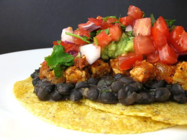 Чёрная фасоль по-мексикански