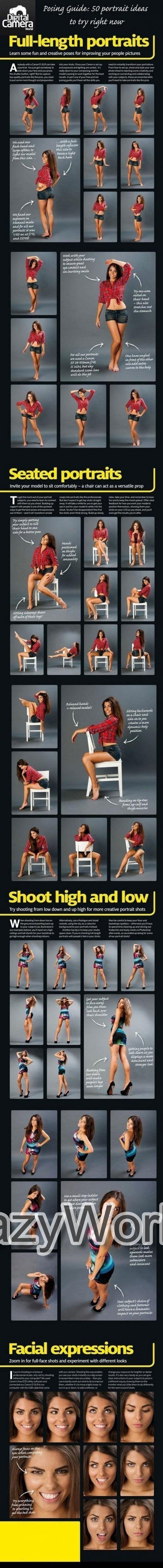 Posing Guide For Girls