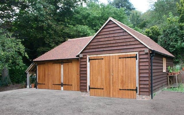 20 best images about garage ideas on pinterest oak doors for Garage extension ideas