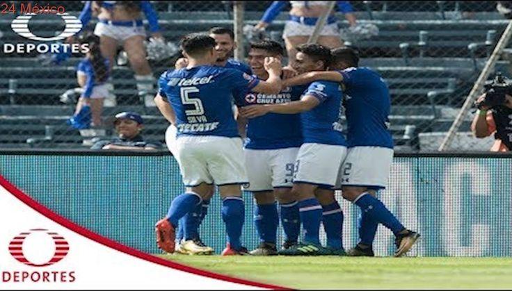 Resumen | Cruz Azul 2 - 1 Atlas | Apertura 2017 - Jornada 5 | Televisa Deportes