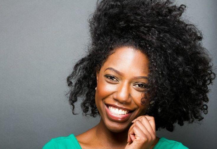 Pin Curls On Natural Black Hair