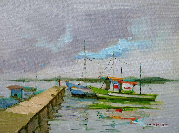 Barcos Pesqueiros no Caju