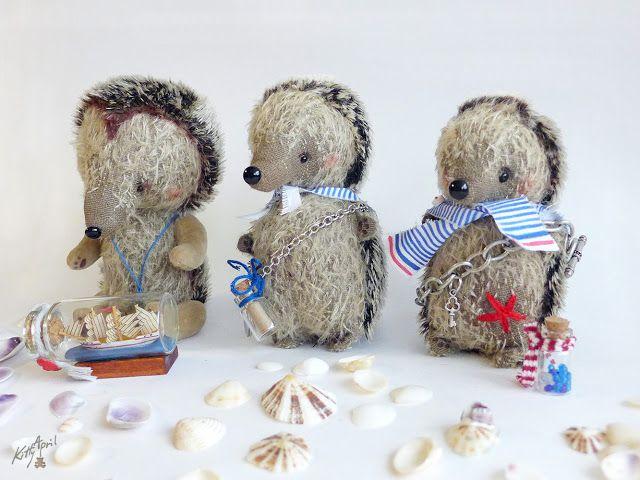 Морские ежики Сэм, Ромео и Тайлер