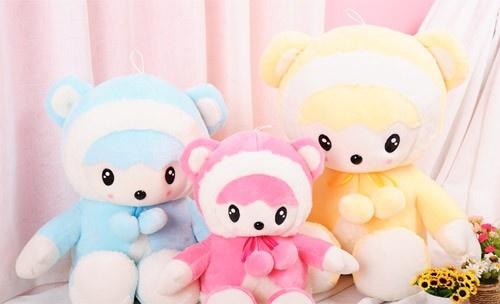 Little Lamb Cloth Doll Cute Plush Toy Birthday Gift