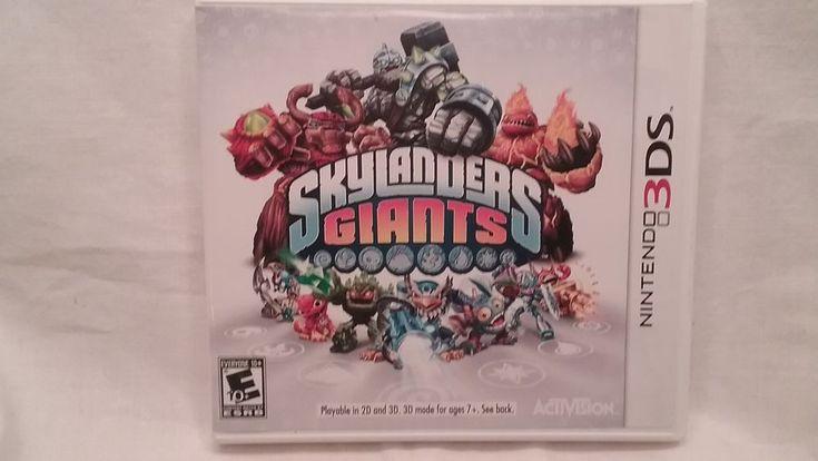 nintendo 3ds sklylander giants gameboy 3ds video games toys to life #Nintendo