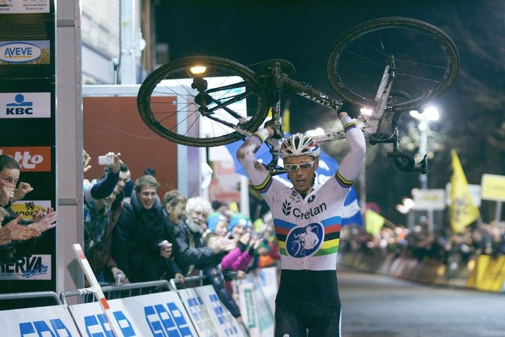 Sven Nys' last race on a Colnago