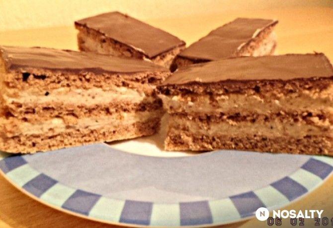 Gesztenyés sütemény Kispeti konyhájából