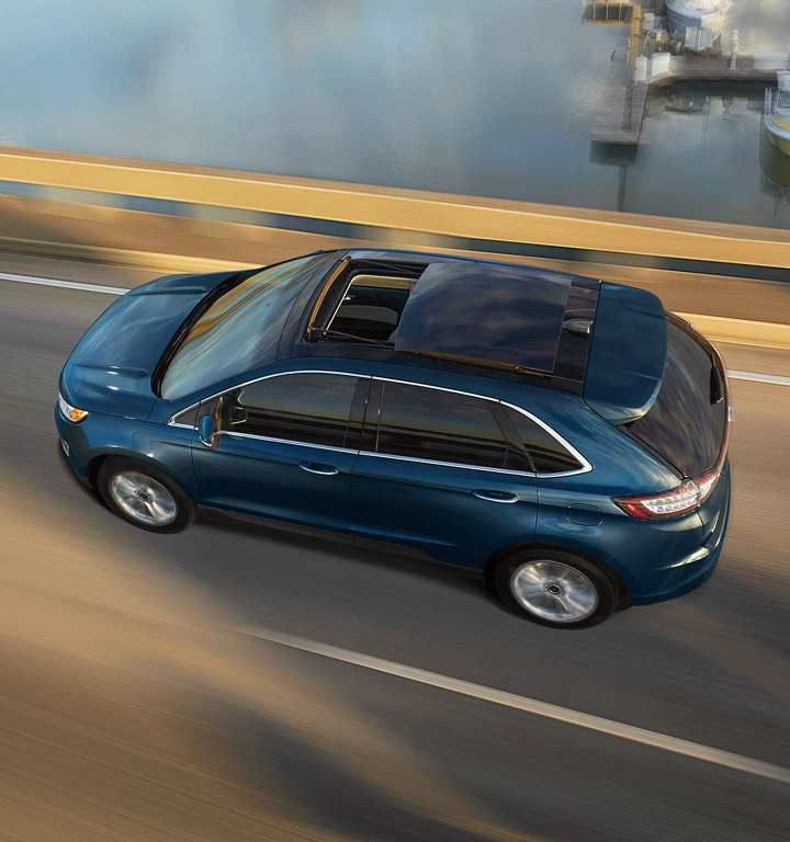2018 Edge Sel In Blue Jeans With Available Panoramic Vista Roof