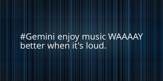 SOOOO TRUE!!!!! i keep increasing the volume and when someone else hears it , they wrench it from their ears and look at me like i am crazy. :3 which i didn't seriously get the first time.
