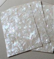 AAA grade pattern a mosaico bianco madreperla laminato fogli con rivestimento shell gioielli di carta mobili inlay chitarra intarsio