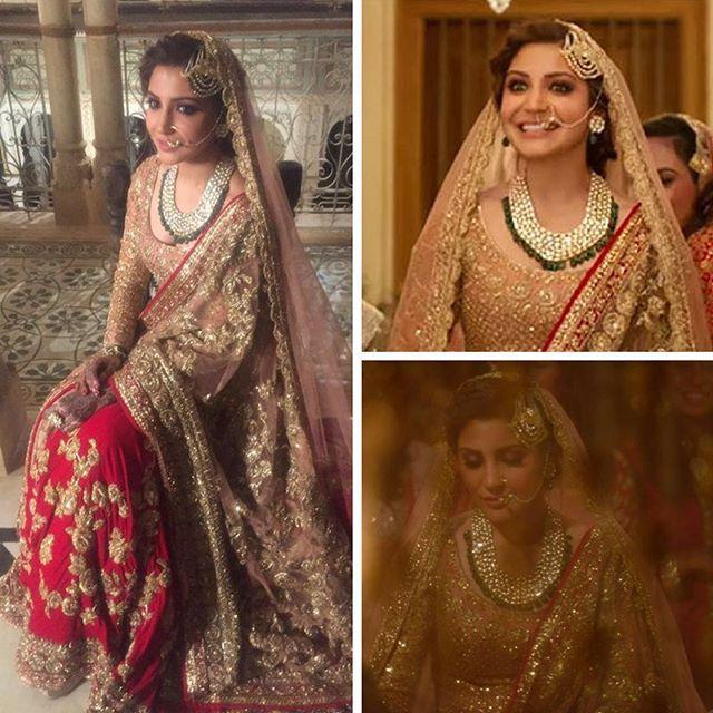 Doesn't Anushka Sharma make a beautiful bride in a  Manish Malhotra ensemble?  #ManishMalhotra #AnushkaSharma  #ADHM #AeDilKiDiwali #AeDilHaiMushkil #bollywood #instabollywood #instafashion #fashion #instastyle #style #beauty #instabeauty #instalike #instafollow #follow4follow #like4like #igers #instapic #instaphoto #bollywoodfashion #BollywoodStyle #OOTD #LookOfTheDay