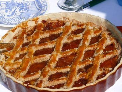 Linzertorte - La recette de ce dessert bien connu en Alsace mais d'origine autrichienne se trouve dans un livre de cuisine vieux de plus de 300 ans.