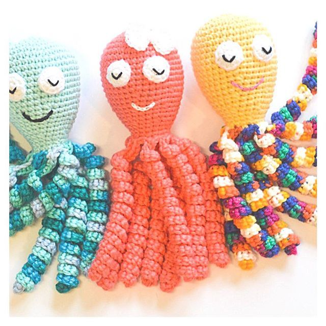 Don't you love how these sweet little octopi are taking the preemie world by storm? There's nothing cuter than a preemie cuddled up with his or her own snuggly, grasping the curly tentacles for comfort.⠀ ⠀ Has your NICU seen an increase in these crocheted buddies?⠀ ⠀ If you have any pix of your preemie with an crocheted octopus, tag #hellopreemie and let's see how adorable it is!⠀ ⠀ These super cute ones are from Etsy seller Ariannas Handmade, and you can head directly to her store by…