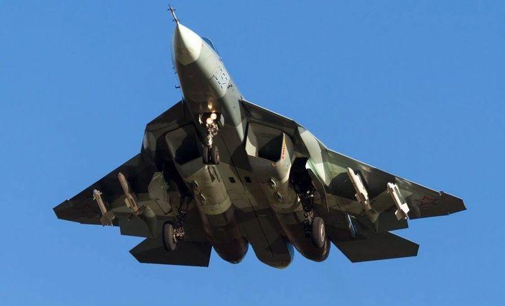 Sukhoi PAK-FA T-50  Code 052 2