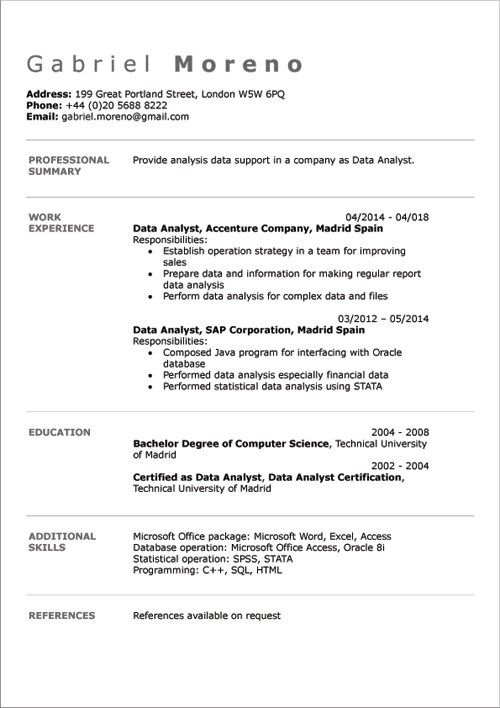 great cv template uk 2014 idea english cv examples doc template online creator cv template uk