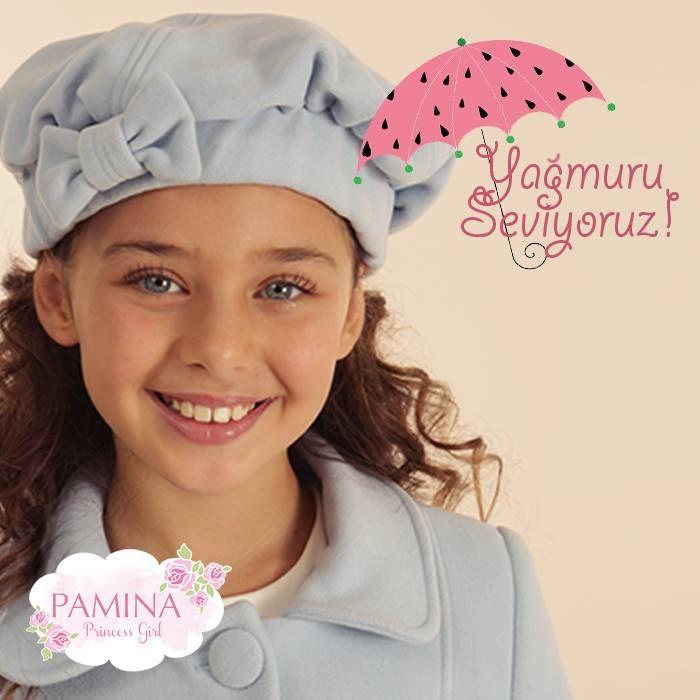 Pamina kızları için bu kış hem sıcak, hem mutlu!   This winter is too warm and happy for Pamina princess girl...  #Winter #Kış #Coat #FashionKids