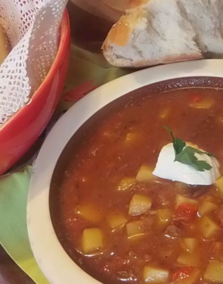 Hungarian Goulash Slow Cooker Food Network