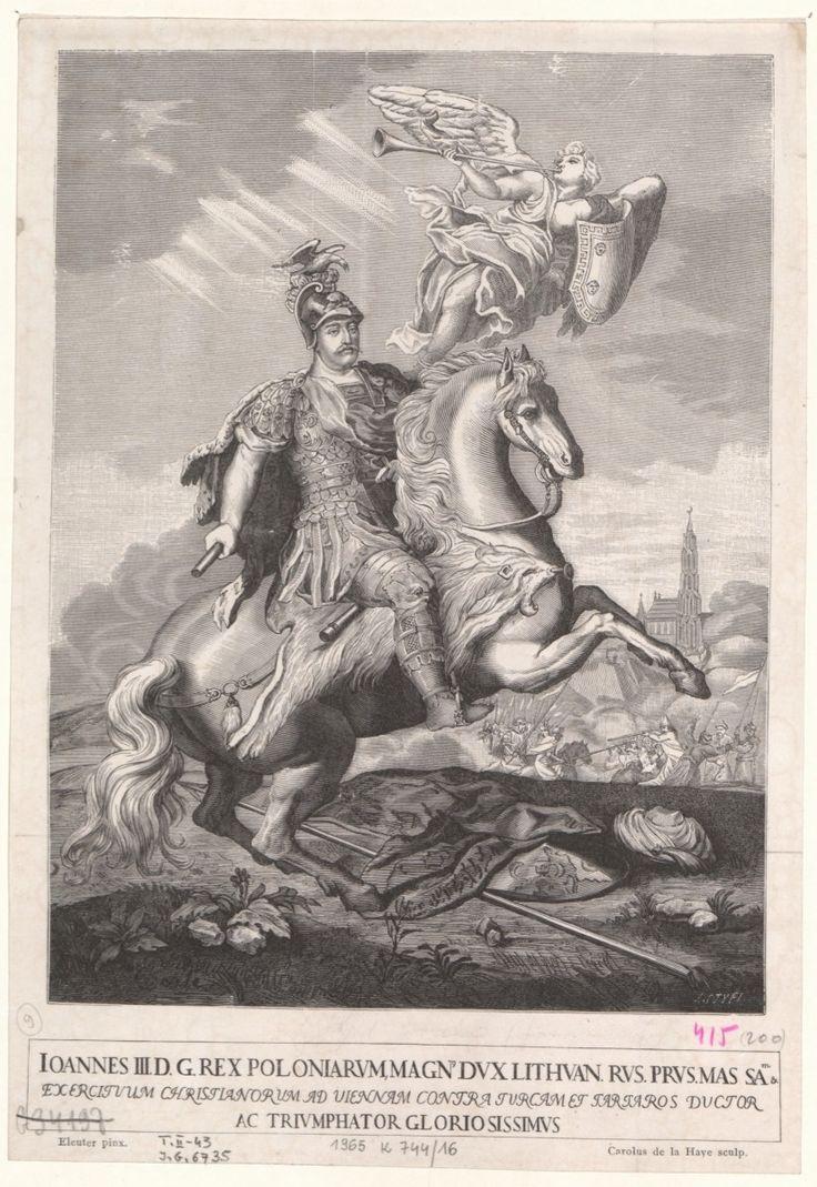 King Jan III Sobieski on horseback