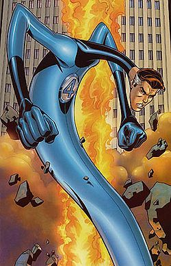 Mister Fantastic (Reed Richards) is a fictional superhero appearing in American comic books published by Marvel Comics. Created by writer Stan Lee and artist/co-plotter Jack Kirby, the character first appeared in The Fantastic Four #1 (Nov. 1961). He was one of the four main characters in the title. Lee has stated the stretch powers were inspired by DC's Plastic Man, which had no equivalent in Marvel The character is a founding member of the Fantastic Four.