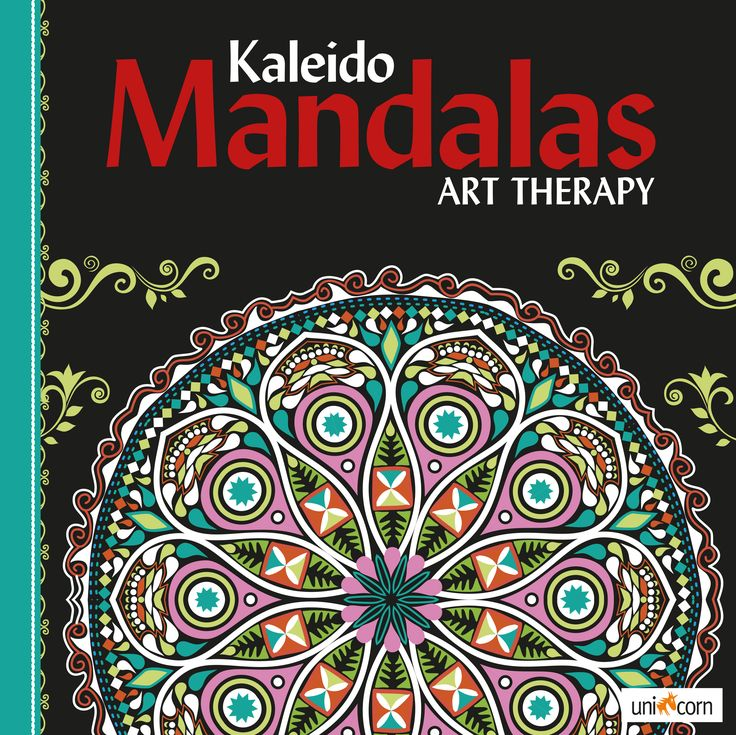 Kaleido Mandalas Art Therapy BLACK