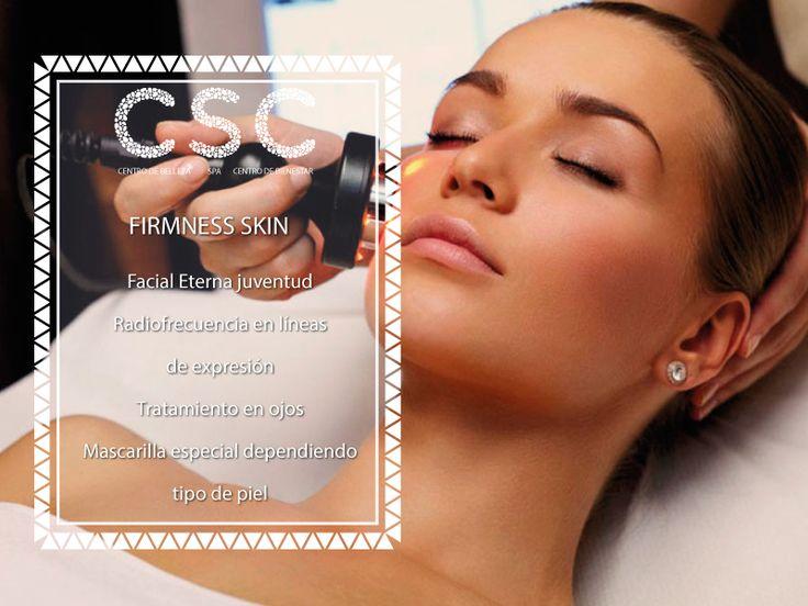 #BuenViernes No te pierdas de nuestra promoción este mes patrio: Firmness Skin #Cscspa #Piel #CúantoTiempoTeDedicas #Salud #Piel #Septiembre