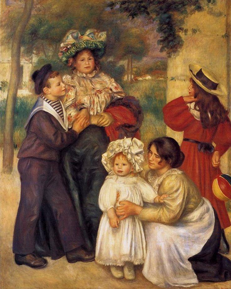 Pierre-Auguste Renoir - la familia del artista, 1896