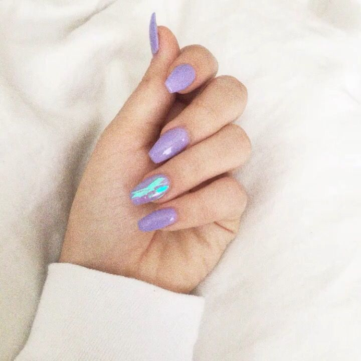 11 best nail art images on pinterest cute nails pretty for Purple makes you feel