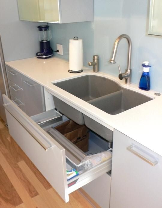 Under Sink Storage Drawers Laundry Cabinet With