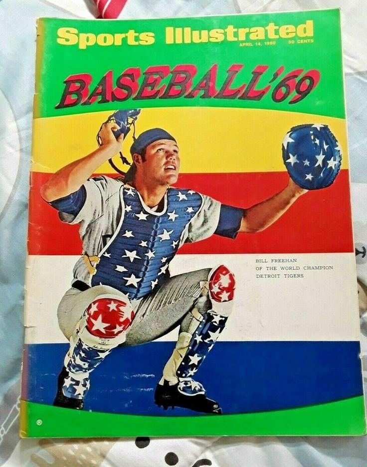 Sports Illustrated April 1969 Bill Freehan Tigers Baseball