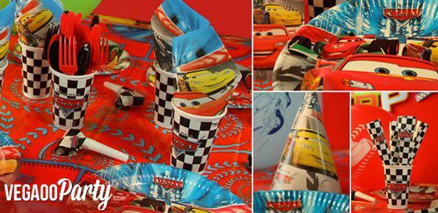 Festa di compleanno a tema Cars - VegaooParty