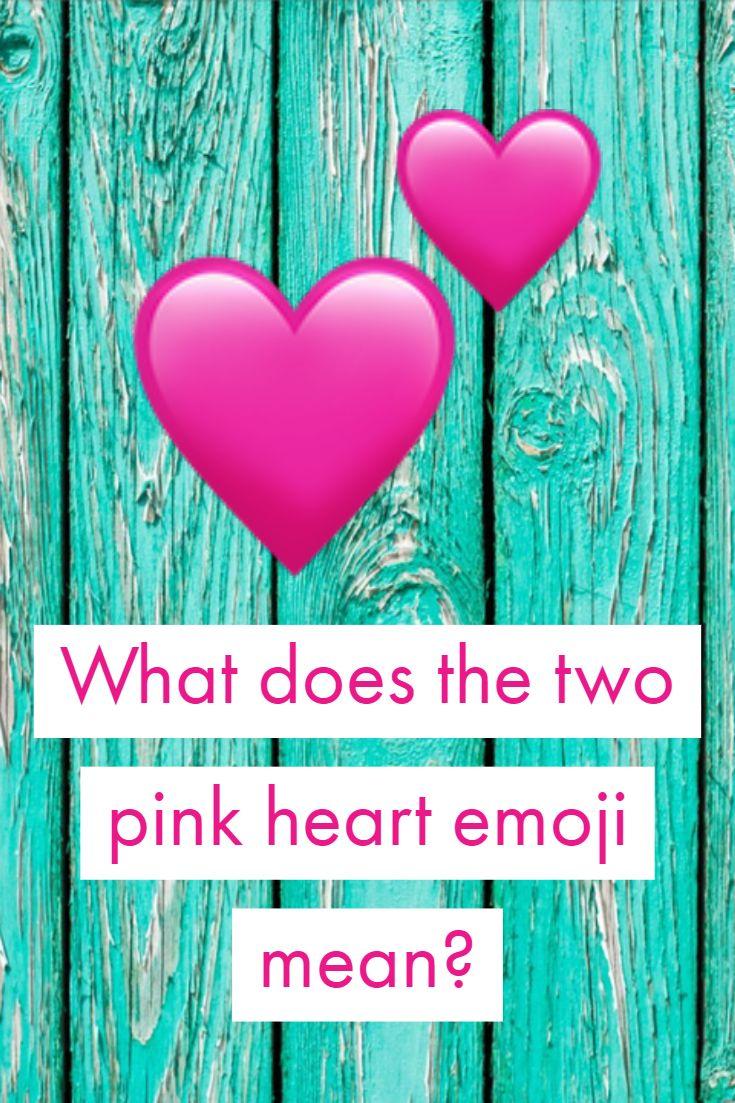 Emoji heart meanings